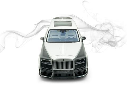 مانسوري و بيليونير تكشفان عن إصدار محدود مدهش من سيارة رولز رويس كولينان